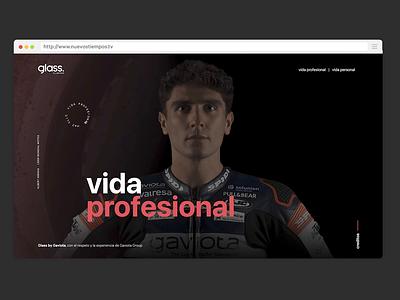 Nuevos tiempos, nuevas marcas html5 angularjs promokore albert arenas motogp motorcycle motorsport motorbike motor responsive design responsive express ads campaign film video