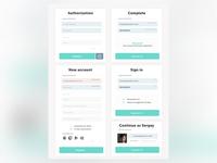 Authorization forms design