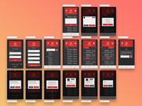 RedPager - App design and Overflow