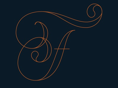 F hand lettering vector 36daysoftype