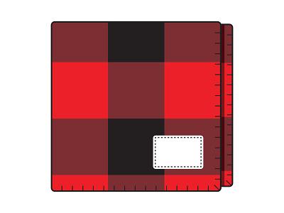 Photo Studio Label illustration blanket