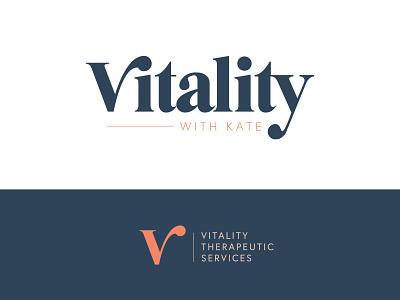 Vitality Logo Graveyard branding logo