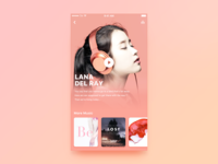 UI-Music player interface