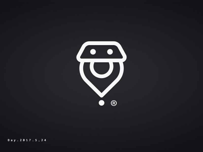 Logo-Find Car easy position find car logo