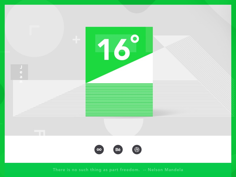 UI-Layout Design every day format social number 16