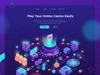Online Casino - Landing Page
