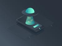 UFO Isometric