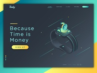 Smartwatch Landing Page Exploration
