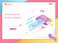 Header Illustration for Find Event