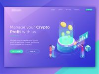 Crypto Header Illustration