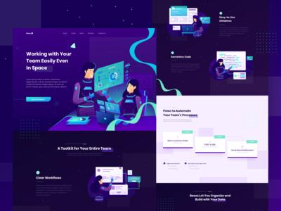 Teamwork Discussion Website Design Exploration