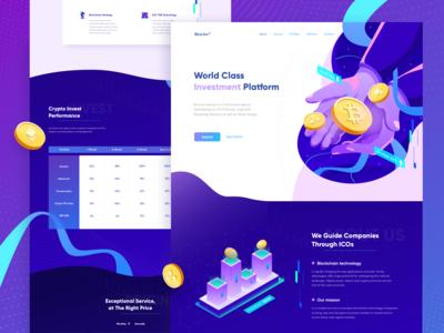World Class Investment Platform - Landing Page