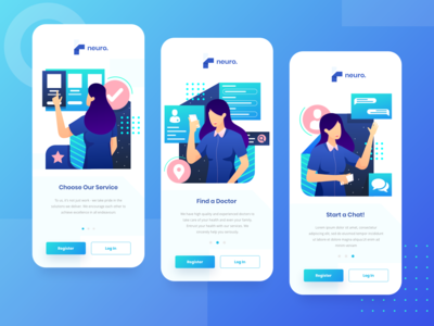 Virtual Healthcare Onboarding  Page