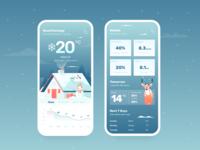 SnowBall - Weather Application Design