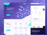 Netwebo Landing Page