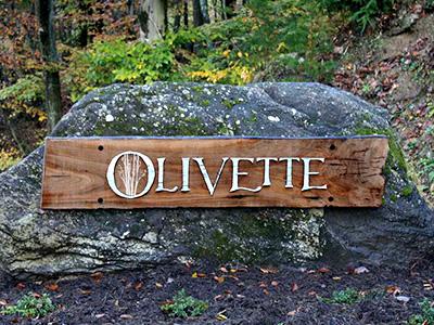 Olivette Entrance Sign
