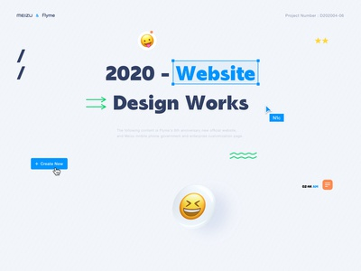 NO.0817 ↑↑ meizu emoji ui design website
