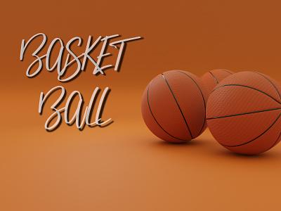 Basket Ball bledner3d blender 3dart ball basketball sport sports games 3d
