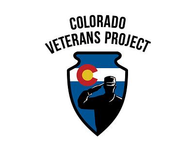 Logo for Colorado Veterans Project non-profit non profit design logo