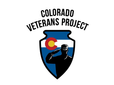 Logo for Colorado Veterans Project non-profit non profit design logo