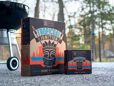 Tropicoal Ignition Packaging sustainable packaging branding design