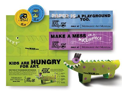 MILWAUKEE ART MUSEUM: Jigsaw / Marketing Campaign branding campaign outdoor print ad advertising design
