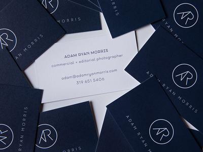 ADAM RYAN MORRIS: UNTD / Business Cards