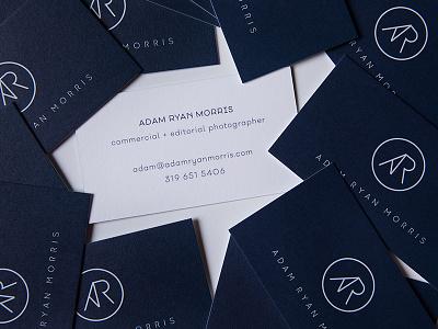 ADAM RYAN MORRIS: UNTD / Business Cards business card logo brand identity design branding
