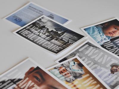 MILWAUKEE COMMUNITY HEALTH CENTERS: Jigsaw / Postcards