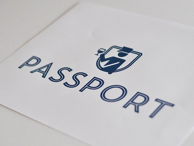 PASSPORT WINE: UNTD / Logo
