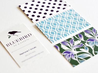 BLUE BIRD: UNTD / Business Cards