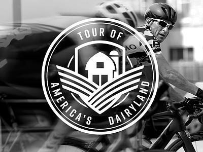 TOUR OF AMERICA'S DAIRYLAND: UNTD - Identity logo brand identity design branding
