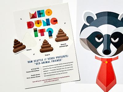 DANIELLE FRITZ: UNTD - Marketing postcard marketing design