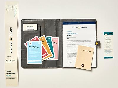 WEALTH PARTNERS: UNTD - Employee Workshop Materials brand toolkit brand ambassadors design