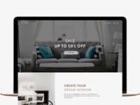 Furniture e-commerce redesign
