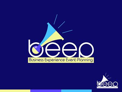 beep event beep horn round brand black blue branding design logo brand identity illustration brand design branding
