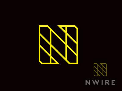 nwire graphic design vector brand design branding design logo brand identity brand design branding illustration logo design n mark n
