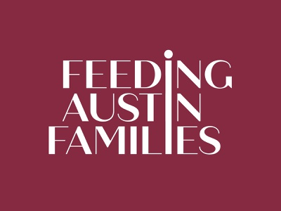 Feeding Austin Families vector design brand branding design brand design baby brand identity branding illustration logo family feeding austin families