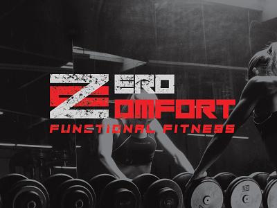 Zero Confort gym logo brand design branding design brand identity logo brand design illustration branding fitness zero comfort