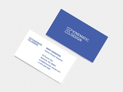 Kinematic   Business Card