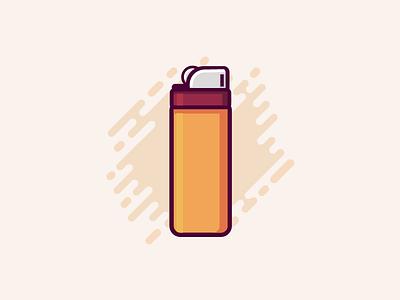 Lighter vector ui pocket palette key ivory illustration icon color lighter