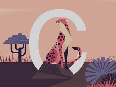 Calmness fury animation 36daysoftype-c character vector