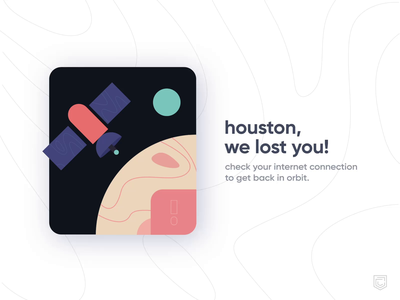 CRED 2.0 | no internet connection interface icon visualdesign ui palette animation flat color illustration vector