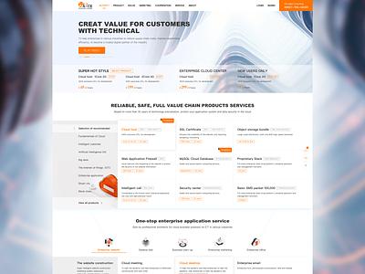 A-CE CLOUD SERVICE WEB CONCEPT DESIGN graphic design colors illustration ux interface logo branding web design web ui art design