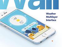 MeetWeather App UI Design