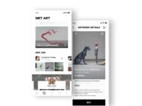 Met Art of  E-Commerce App