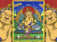 Thangka decorative painting