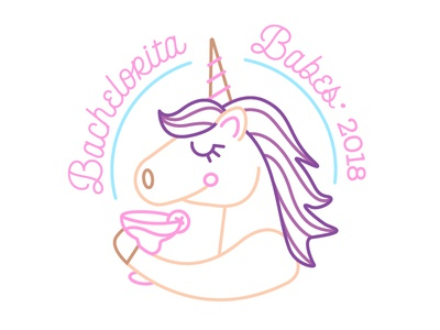 bachelorita 2018 wedding margarita girly pink girls its lit party unicorn bachelorette engaged