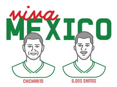 el tri dos santos chicarito el tri soccer futbol world cup mexico