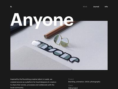 2018 Portfolio update typography web design digital design design portfolio